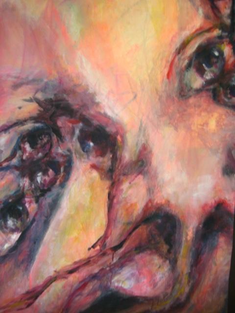 2008-Malerei-Bewegung-1-Nase-Luisa-Pohlmann-Kunst-Berlin
