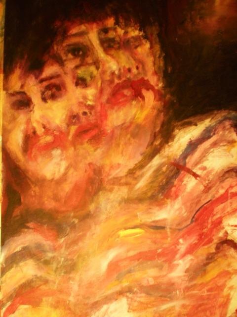 2008-Malerei-Bewegung-4-Gesichter-Luisa-Pohlmann-Kunst-Berlin