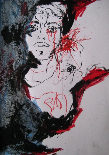 2008-Malerei-Farbe-12-traurig-blut-Luisa-Pohlmann-Kunst-Berlin