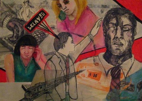 2008-Malerei-Farbe-17-collage-delayed-zug-Luisa-Pohlmann-Kunst-Berlin