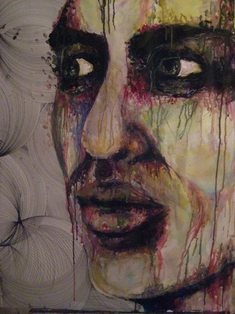 2008-Malerei-Farbe-2-Aquarell-Gesicht-Luisa-Pohlmann-Kunst-Berlin