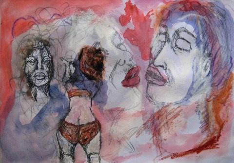 2008-Malerei-Farbe-9-Poo-Cowboy-Lippen-Luisa-Pohlmann-Kunst-Berlin