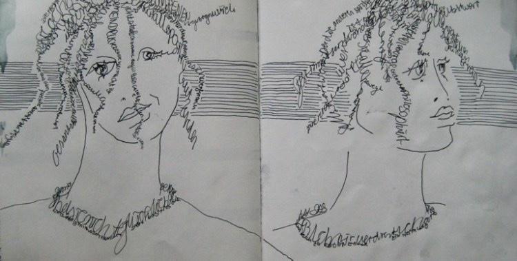 2008-Skizzen-Bewegung-18-Schrift-Luisa-Pohlmann-Kunst-Berlin