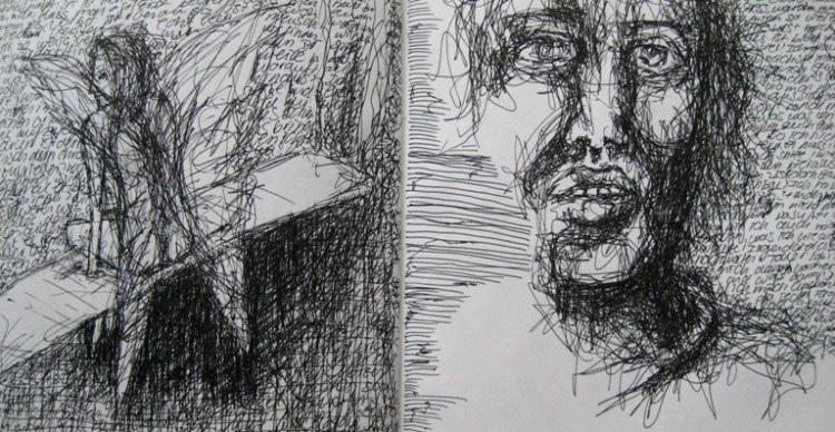2008-Skizzen-Bewegung-26-Engel-Luisa-Pohlmann-Kunst-Berlin