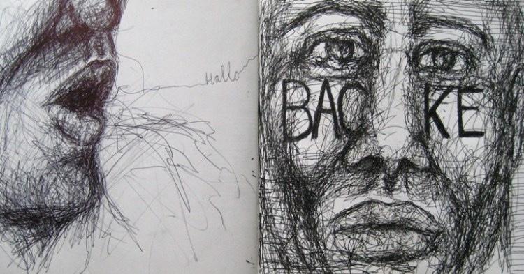 2008-Skizzen-Bewegung-27-Backe-Luisa-Pohlmann-Kunst-Berlin