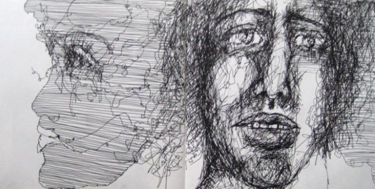 2008-Skizzen-Bewegung-29-Gesicht-Profil-Luisa-Pohlmann-Kunst-Berlin