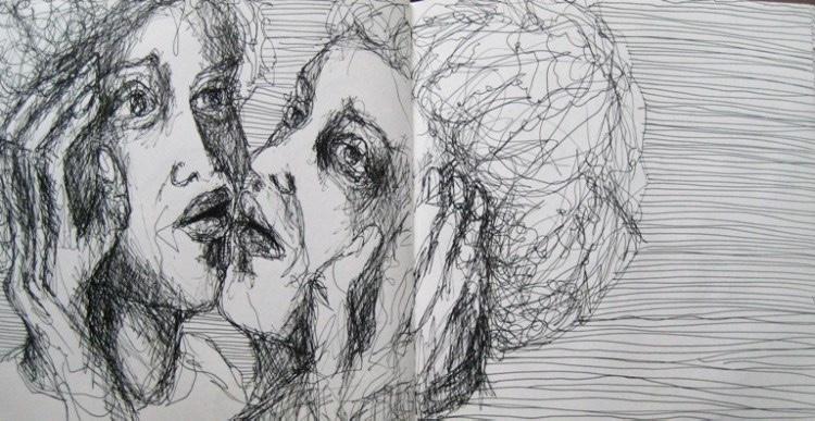2008-Skizzen-Bewegung-37-Gesichter-Liebe-Luisa-Pohlmann-Kunst-Berlin