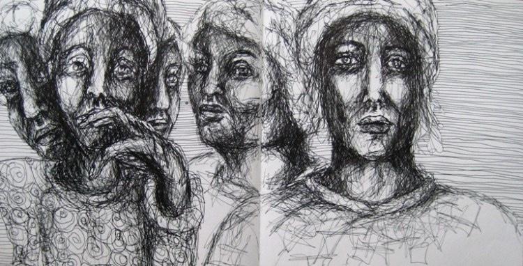 2008-Skizzen-Bewegung-38-Gesichter-Portraits-Luisa-Pohlmann-Kunst-Berlin