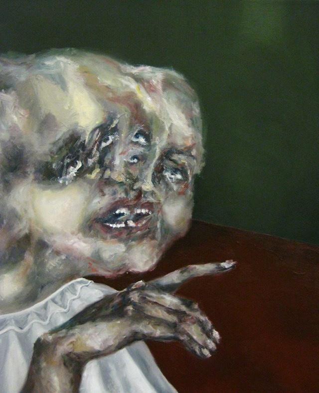 2009-Malerei-Angst-1-Gesichter-Luisa-Pohlmann-Kunst-Berlin