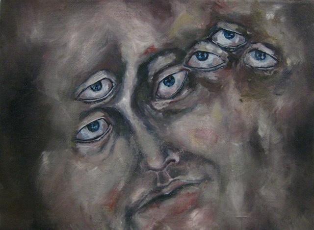 2009-Malerei-Angst-11-Augen-Luisa-Pohlmann-Kunst-Berlin