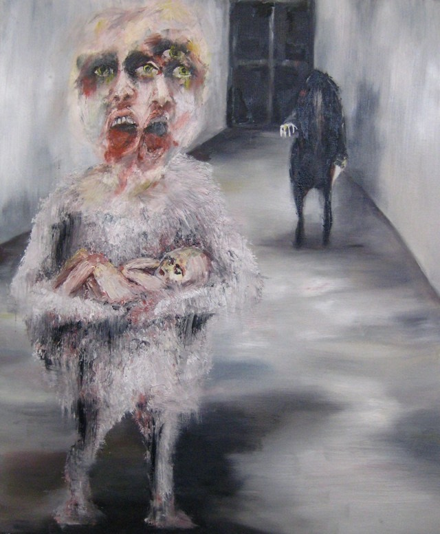 2009-Malerei-Angst-2-Tod-Baby-Luisa-Pohlmann-Kunst-Berlin