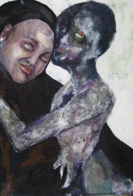 2009-Malerei-Tanzen-1-Luisa-Pohlmann-Kunst-Berlin