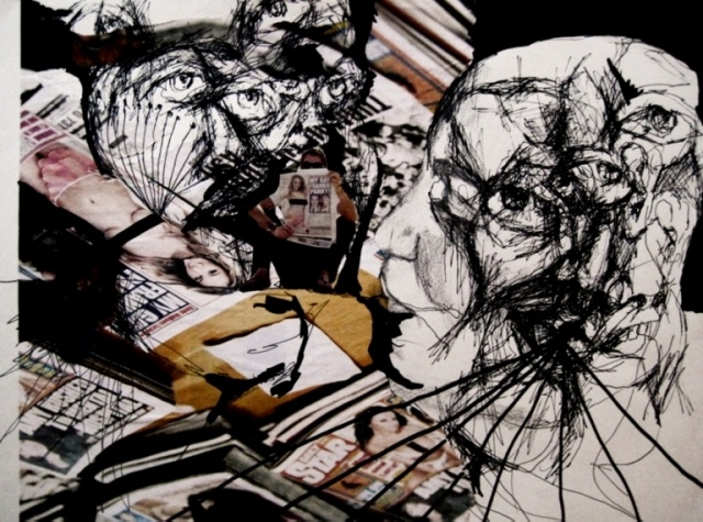 2009-Zeichnung-Angst-11-netz-Luisa-Pohlmann-Kunst-Berlin