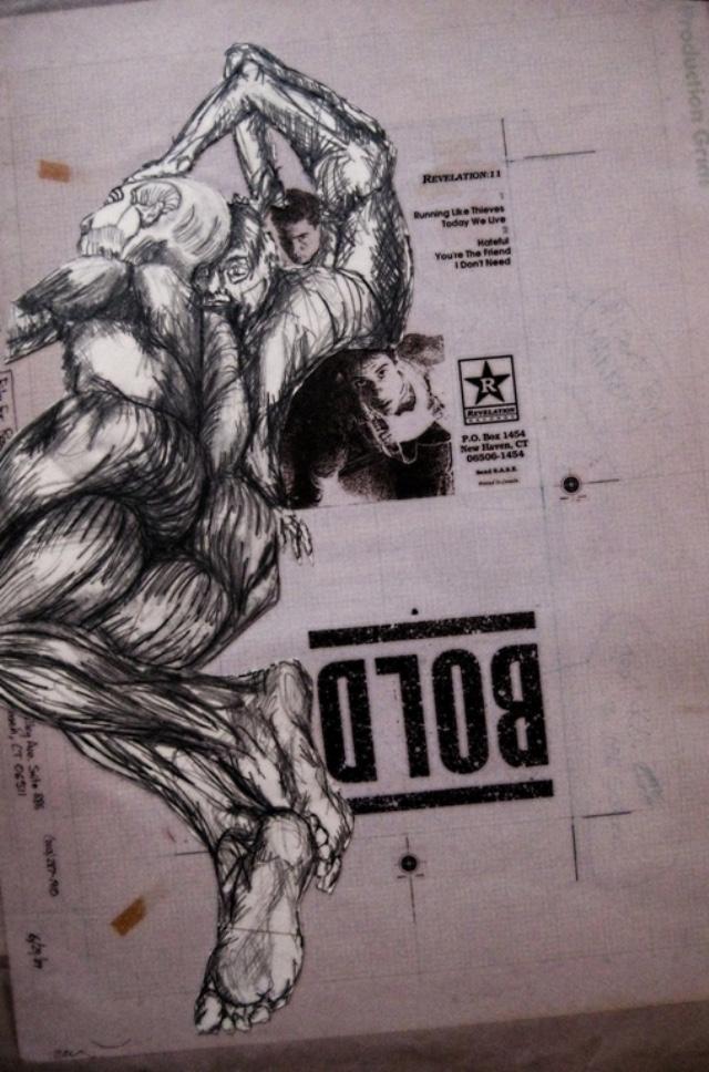 2009-Zeichnung-Angst-3-liegen-Mensch-nackt-Luisa-Pohlmann-Kunst-Berlin