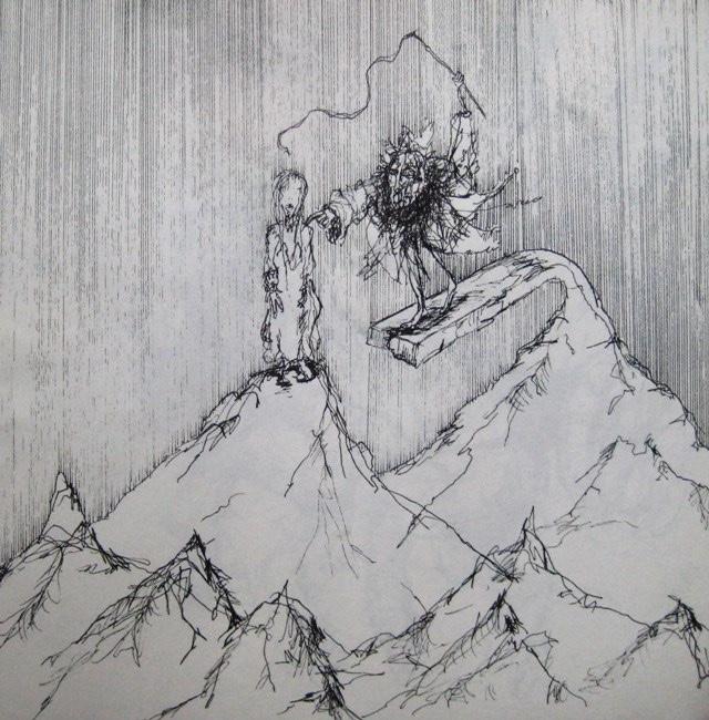 2009-Zeichnung-Angst-30-sklave-peitsche-abgrund-Luisa-Pohlmann-Kunst-Berlin