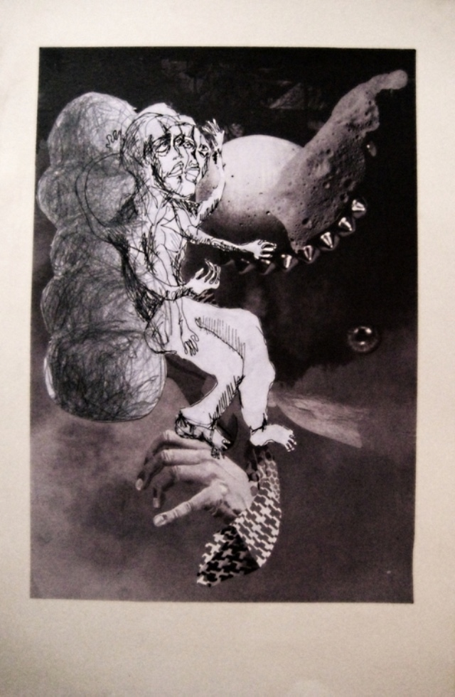 2009-Zeichnung-Angst-4-tanzen-weltall-Luisa-Pohlmann-Kunst-Berlin