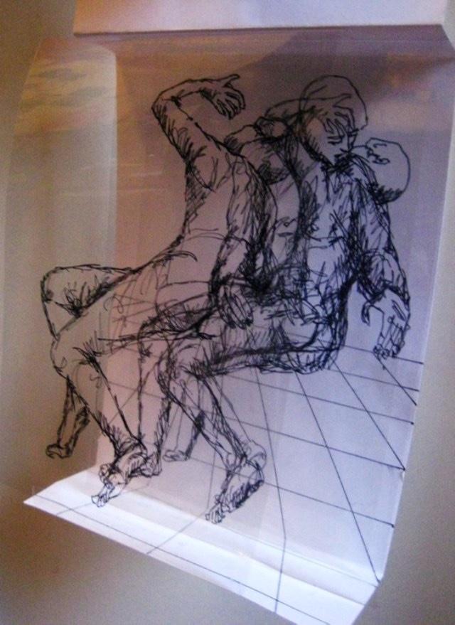 2009-Zeichnung-Angst-43-kuss-Luisa-Pohlmann-Kunst-Berlin