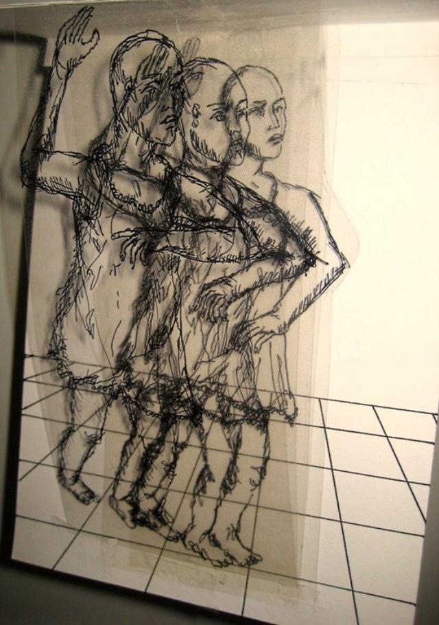 2009-Zeichnung-Angst-46-Tanz-Luisa-Pohlmann-Kunst-Berlin