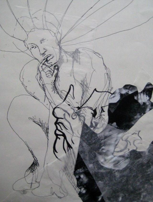 2009-Zeichnung-Angst-8-nachdenklich-Luisa-Pohlmann-Kunst-Berlin