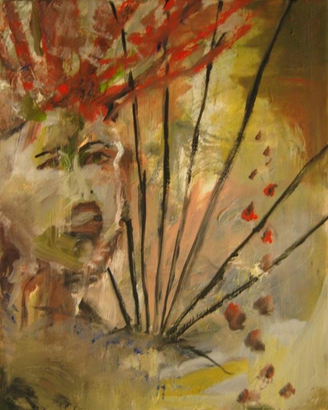 2010-Malerei-Schmerz-10-Strahlen-Irokese-Luisa-Pohlmann-Kunst-Berlin