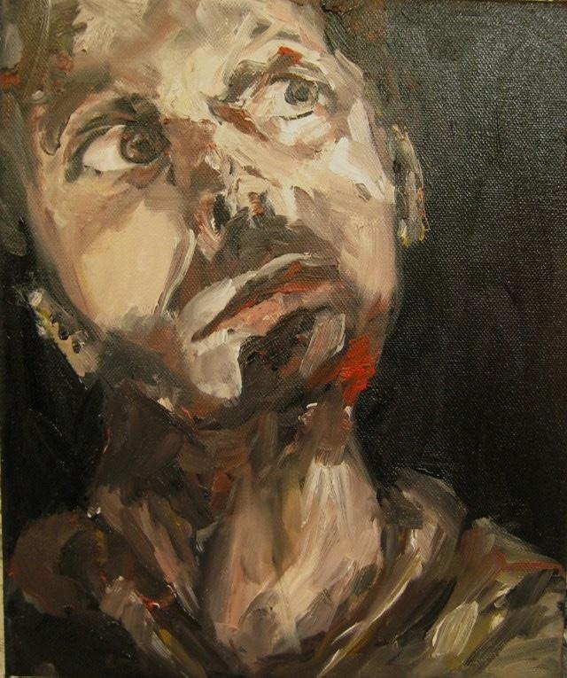 2010-Malerei-Schmerz-12-fragend-nachdenklich-Luisa-Pohlmann-Kunst-Berlin