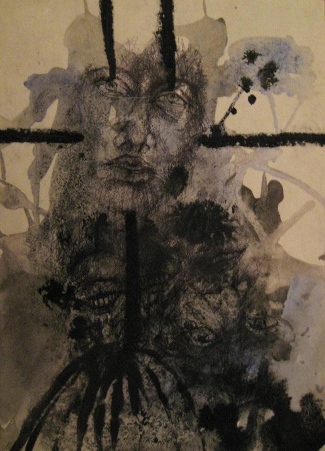 2010-Zeichnung-Schmerz-11-zurueckgezogen-Luisa-Pohlmann-Kunst-Berlin