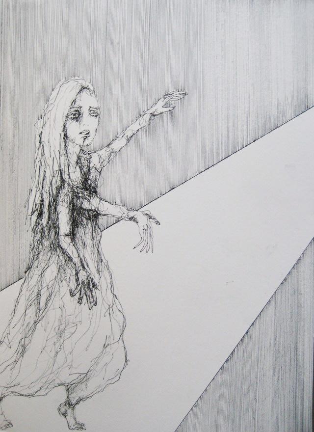 2010-Zeichnung-Schmerz-19-drei-arme-Luisa-Pohlmann-Kunst-Berlin