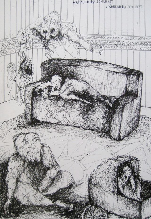 2010-Zeichnung-Schmerz-26-gemetzel-Luisa-Pohlmann-Kunst-Berlin