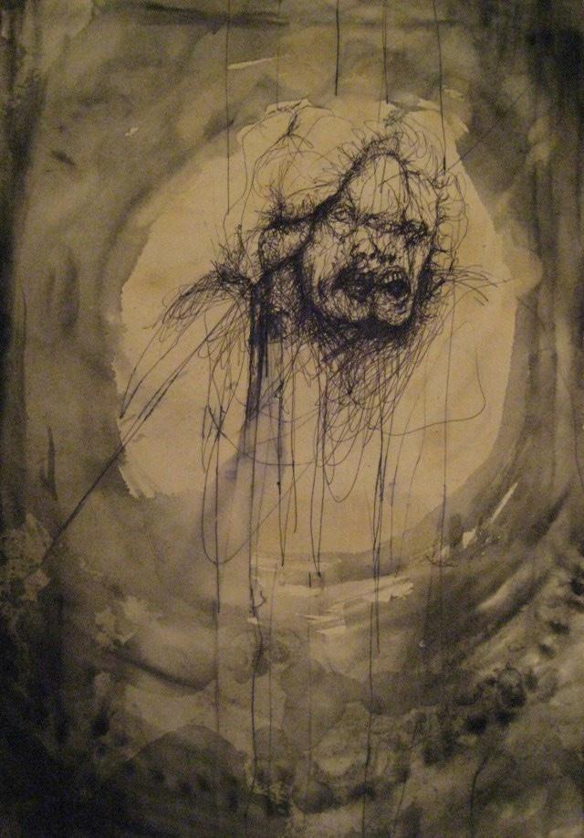 2010-Zeichnung-Schmerz-8-boese-angst-Luisa-Pohlmann-Kunst-Berlin