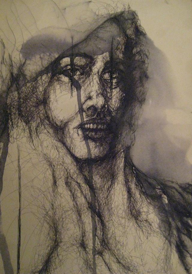 2010-Zeichnung-Schmerz-9-weinen-Luisa-Pohlmann-Kunst-Berlin