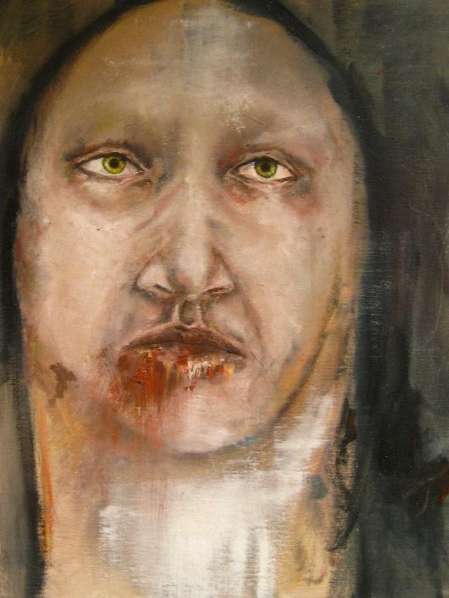 2011-Malerei-Emotion-1-Angst-Monster-Luisa-Pohlmann-Kunst-Berlin