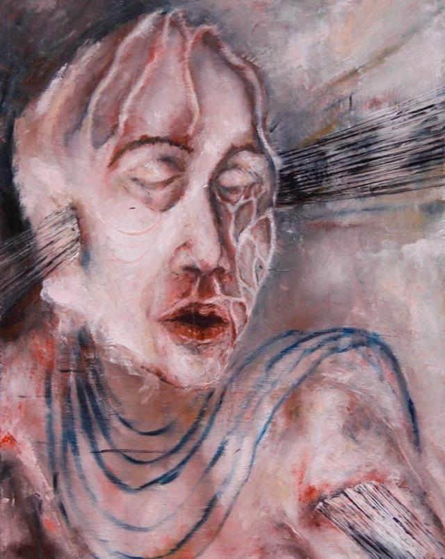 2011-Malerei-Emotion-11-gesicht-schnitt-adern-Luisa-Pohlmann-Kunst-Berlin