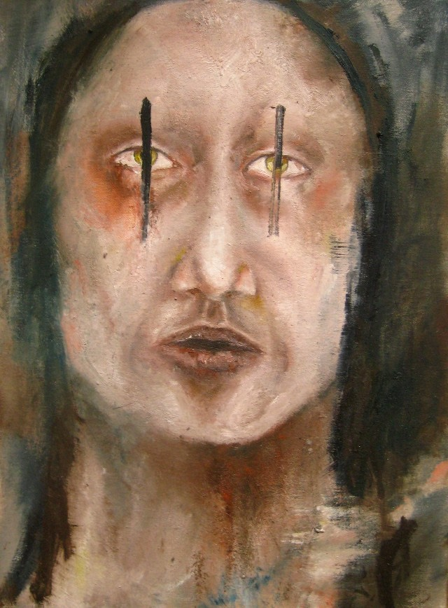2011-Malerei-Emotion-2-Angst-Monster-Luisa-Pohlmann-Kunst-Berlin