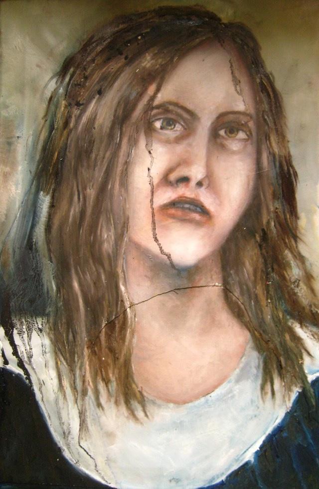 2011-Malerei-Emotion-3-Angst-Zombie-Luisa-Pohlmann-Kunst-Berlin