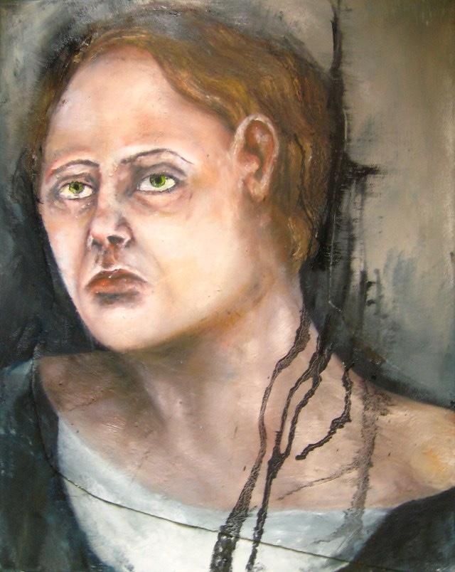2011-Malerei-Emotion-4-Angst-Zombie-Luisa-Pohlmann-Kunst-Berlin