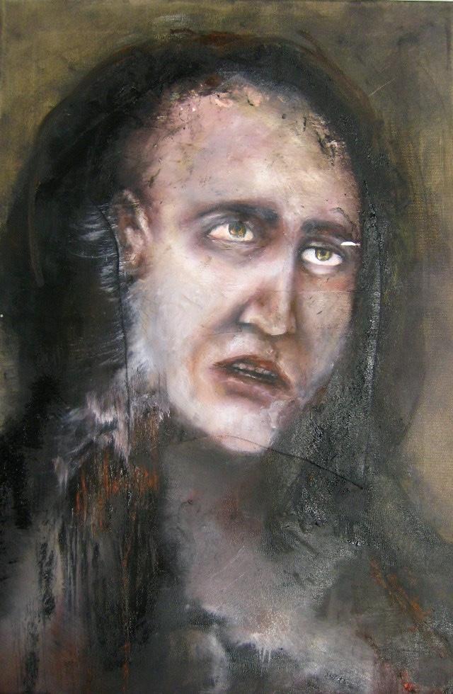 2011-Malerei-Emotion-7-Angst-Zombie-Luisa-Pohlmann-Kunst-Berlin