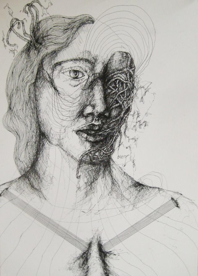 2011-Zeichnung-Emotion-12-wurzel-Luisa-Pohlmann-Kunst-Berlin