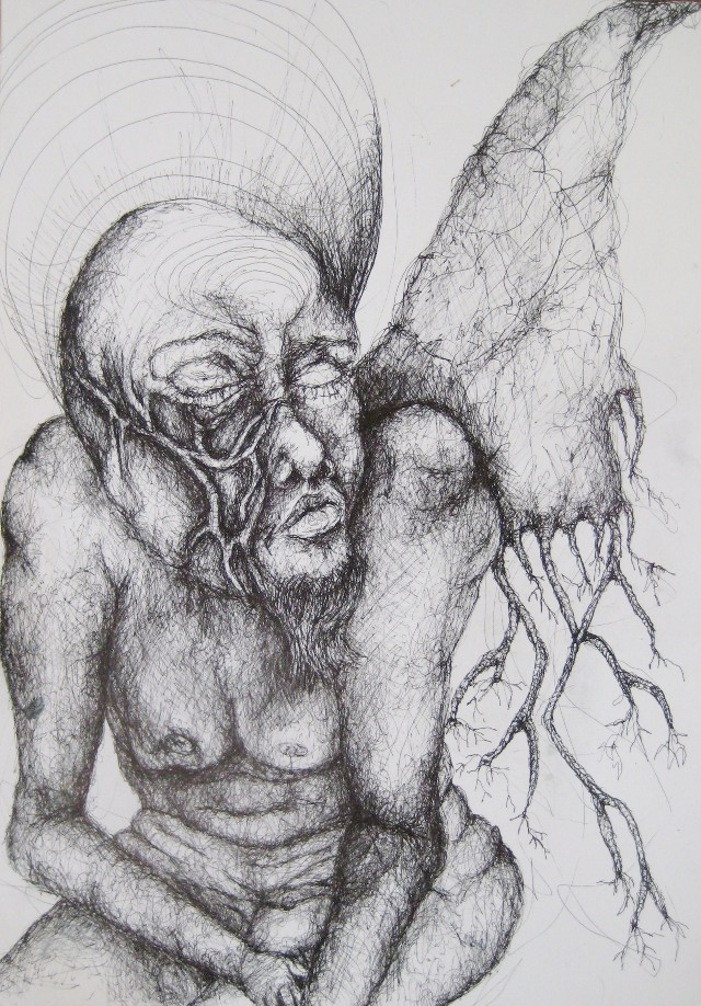 2011-Zeichnung-Emotion-13-fluegel-wurzel-Luisa-Pohlmann-Kunst-Berlin