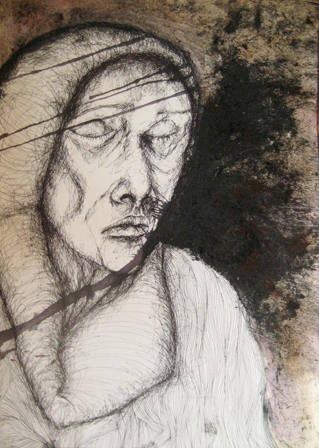 2011-Zeichnung-Emotion-17-wind-kraftlos-Luisa-Pohlmann-Kunst-Berlin