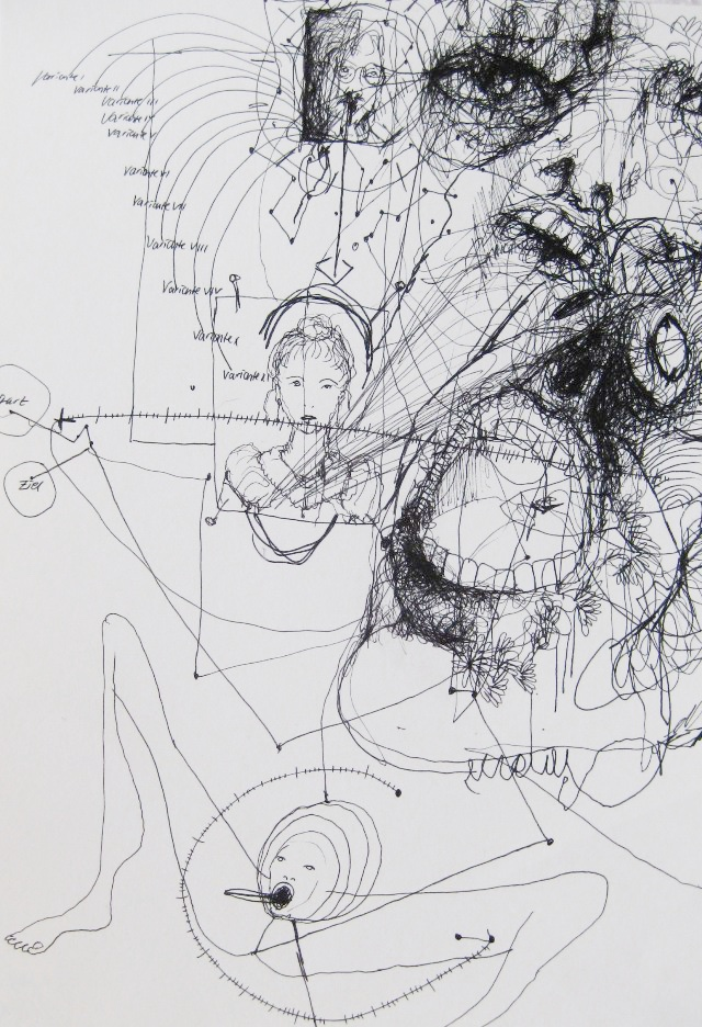 2011-Zeichnung-Emotion-20-geometrie-skala-Luisa-Pohlmann-Kunst-Berlin
