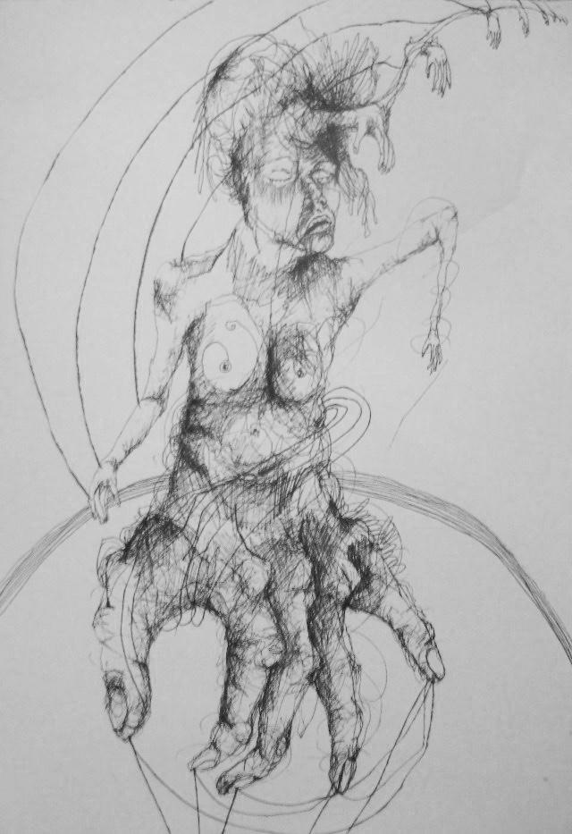 2011-Zeichnung-Emotion-26-hand-mensch-Luisa-Pohlmann-Kunst-Berlin
