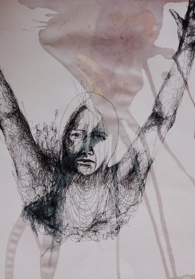 2011-Zeichnung-Emotion-7-fliegen-schwimmen-Luisa-Pohlmann-Kunst-Berlin