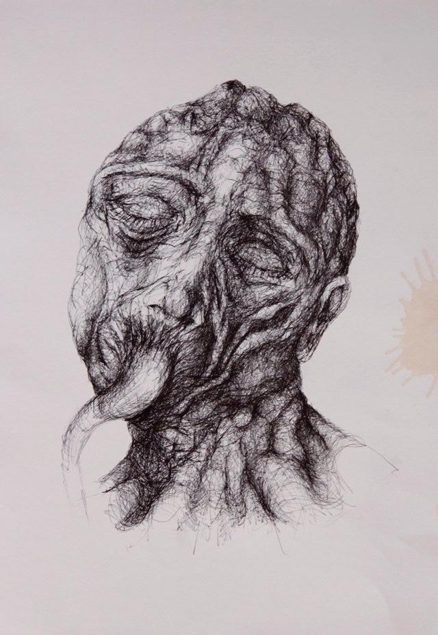 2011-Zeichnung-Emotion-9-nabelschnut-stumm-Luisa-Pohlmann-Kunst-Berlin