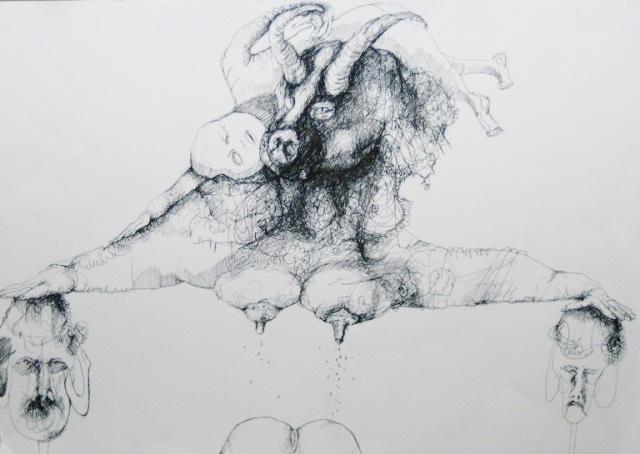 2012-Zeichnung-Sex-11-mutter-brust-po-baby-Luisa-Pohlmann-Kunst-Berlin