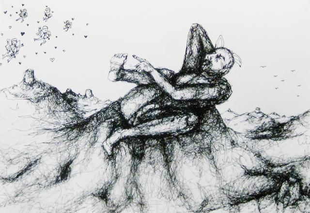 2012-Zeichnung-Sex-27-träumen-brust-Luisa-Pohlmann-Kunst-Berlin