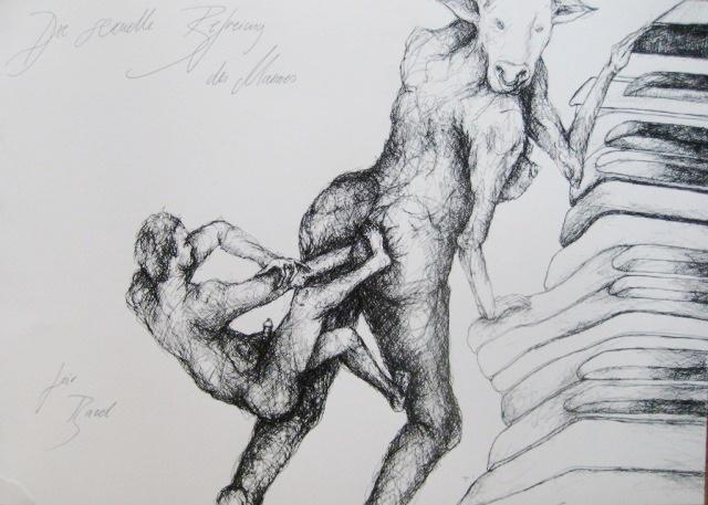 2012-Zeichnung-Sex-30-emanzipation-mann-kuh-Luisa-Pohlmann-Kunst-Berlin