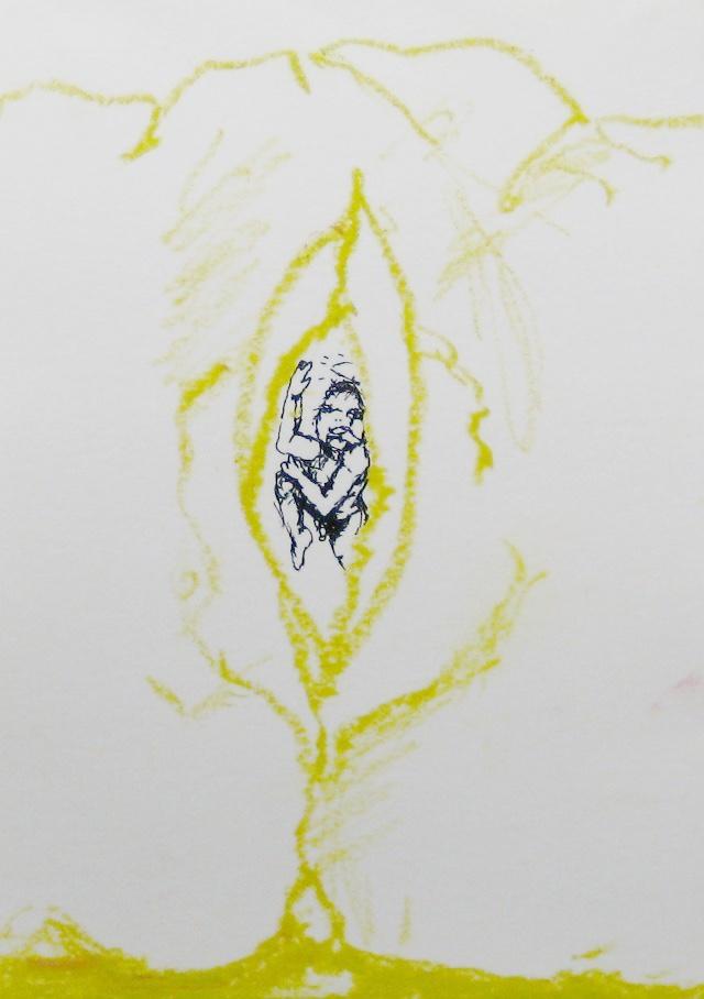 2012-Zeichnung-Sex-44-geburt-baby-vagina-Luisa-Pohlmann-Kunst-Berlin