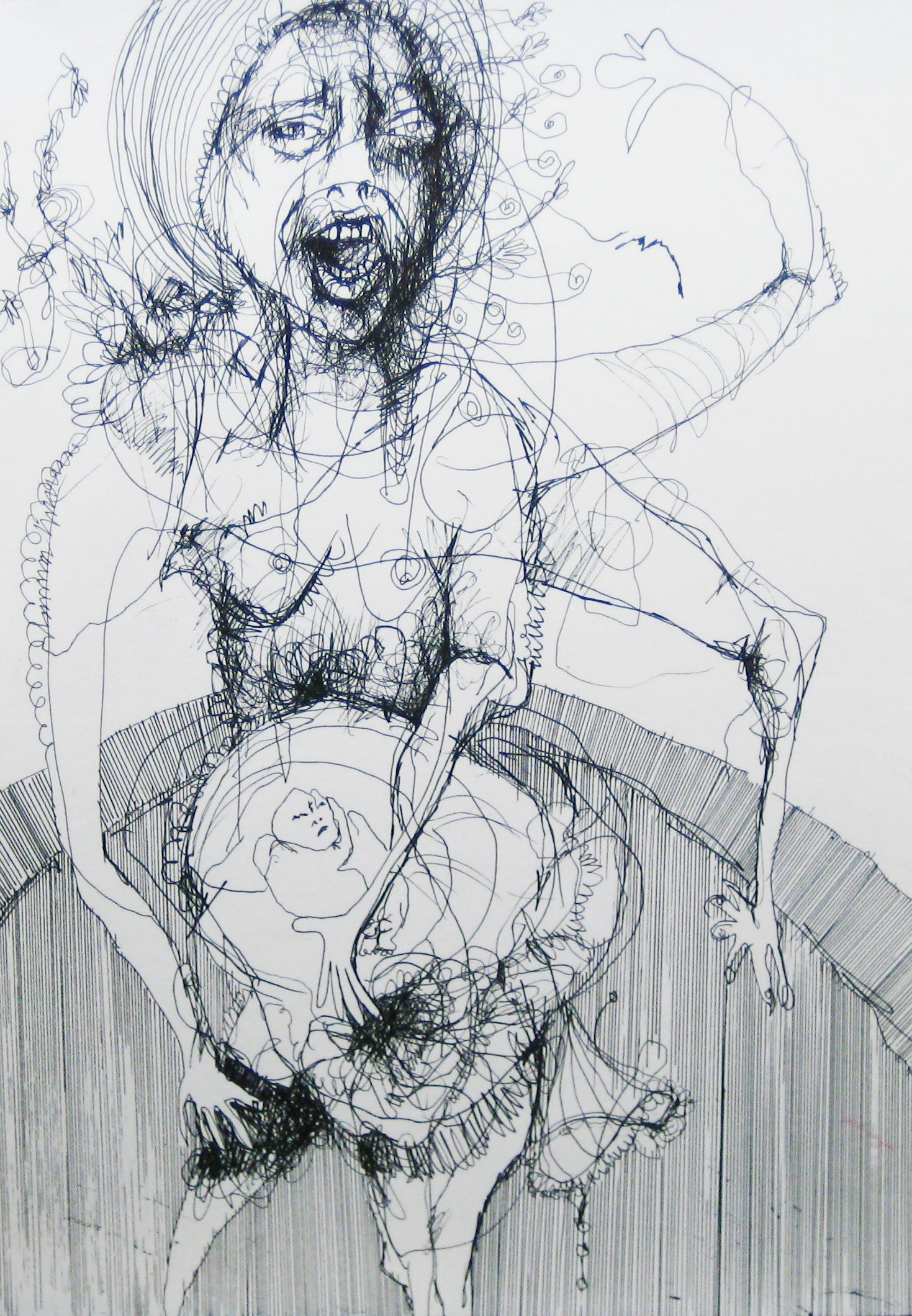 2012-Zeichnung-Sex-55-schwangerschaft-baby-arme-Luisa-Pohlmann-Kunst-Berlin
