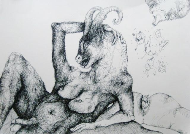 2012-Zeichnung-Sex-9-nackt-horny-penis-brust-Luisa-Pohlmann-Kunst-Berlin