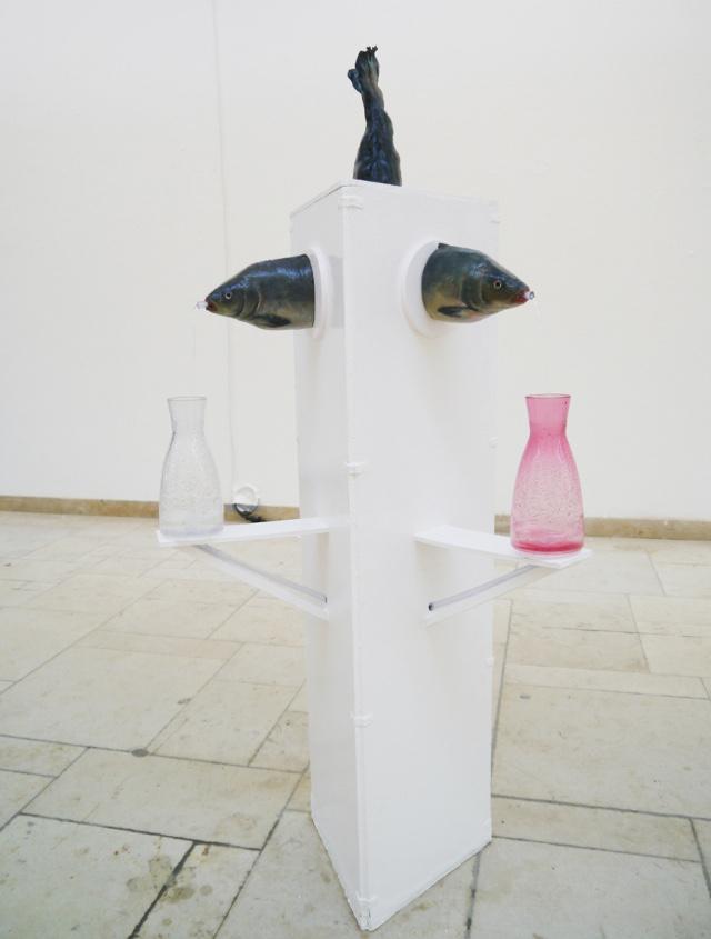 2013-Skulptur-Freiheit-2-Fisch-Brunnen-wasser-Luisa-Pohlmann-Kunst-Berlin